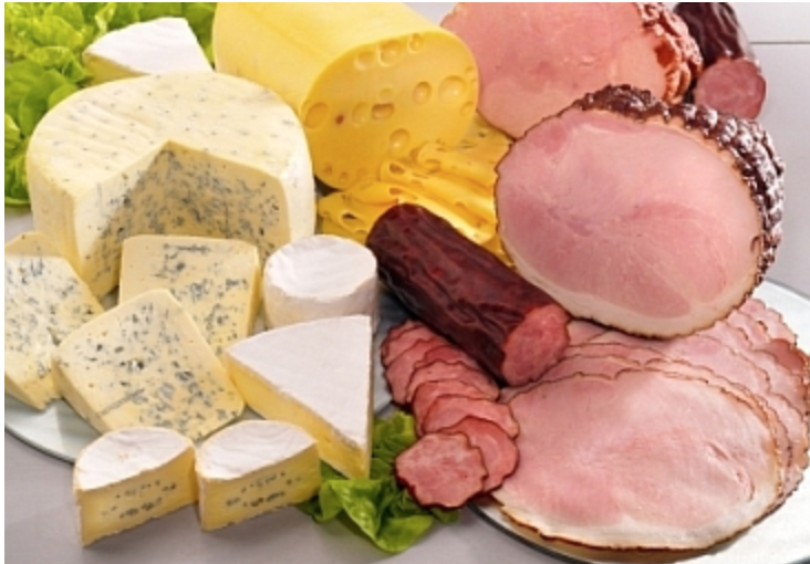 Cheese and Meats Image